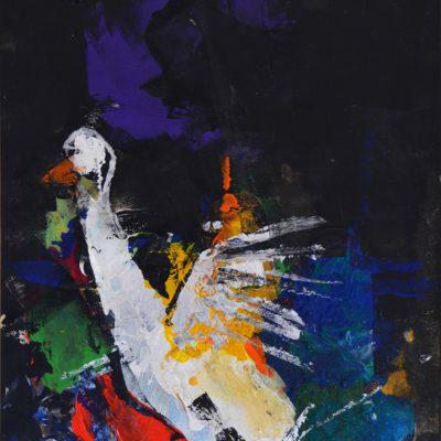 Richard Schwarz - Gemälde Gans
