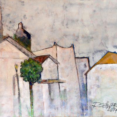 Richard Schwarz - Gemälde Marktplatz