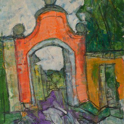 Richard Schwarz - Gemälde Münchner Tor