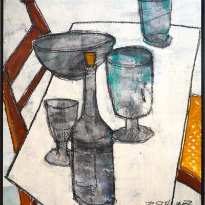 Richard Schwarz - Gemälde Tisch