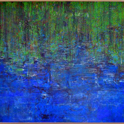 Richard Schwarz - Gemälde Wasserspiegel